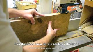Inside The Luthier's Shop: Resawing Lumber For Tele Les Paul Guitar Tops Spalted Maple Burl