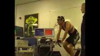 VO2max test cycling (ramp test)