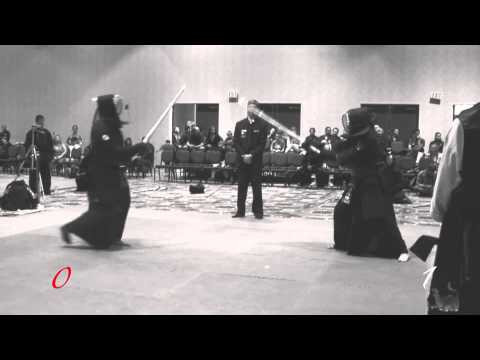 Hwa Rang Do® Gumtoogi (Sword Fighting) World Championships 2014 Jang-gum  Black Sash Semi-Final