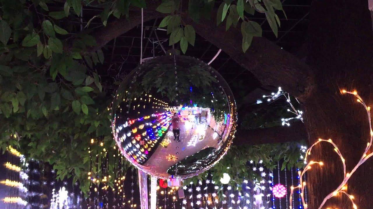 christmas led digital bauble lights white - Digital Christmas Lights