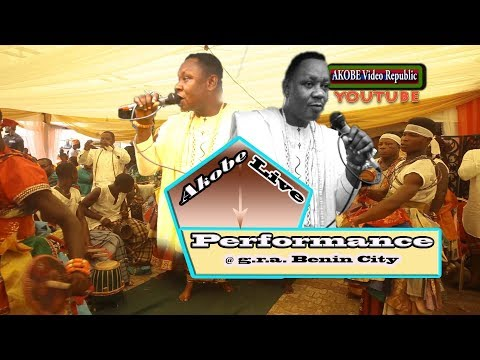 Akobe live performance @ g.r..a Benin City