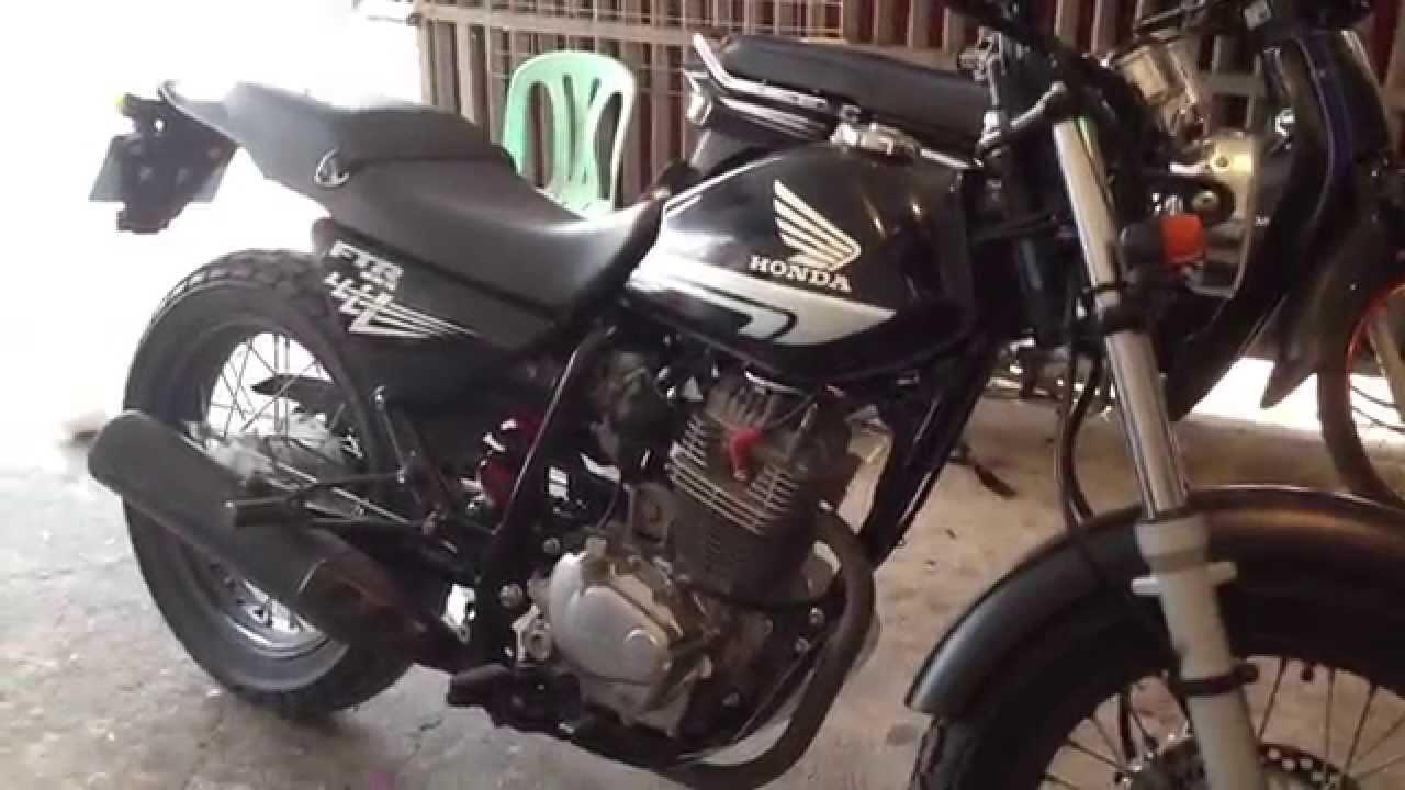 honda ftr 223 cambodia - ftr 223 motor khmer ks - youtube