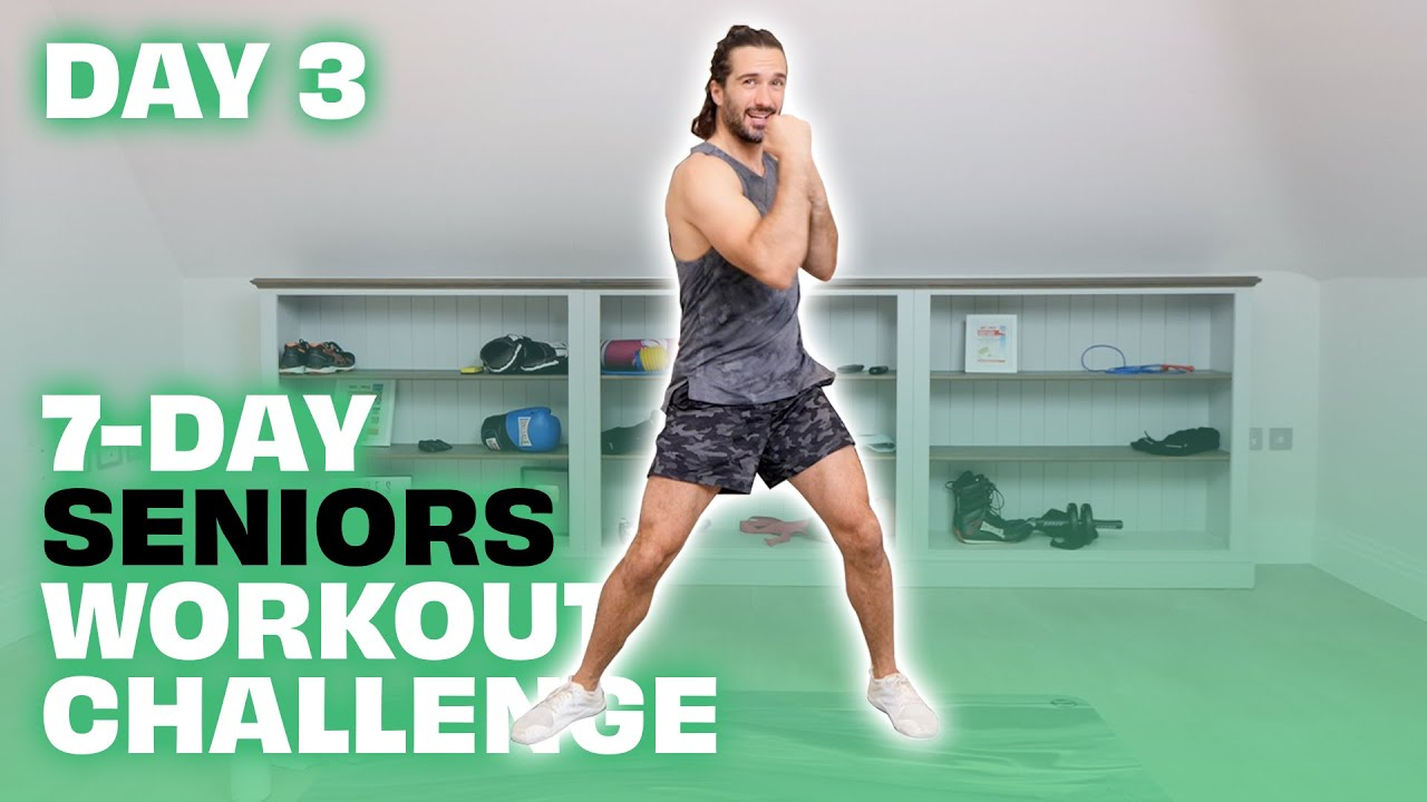 7-Day Seniors Workout Challenge | Day 3 | The Body Coach TV