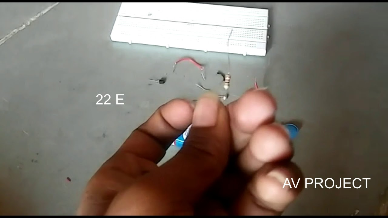How To Make Ldr Darkness Sensor Circuit Simple Diy By Av Project