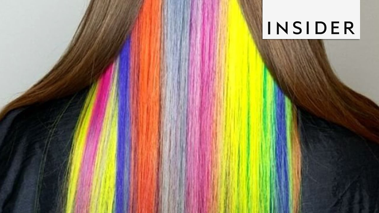 Super Bright Hair Colors Youtube