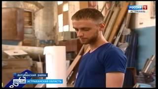 Мастера из Ахтубинского района за свои средства восстанавливают мемориальные комплексы