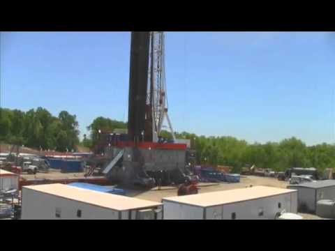 Walking Drilling Rig