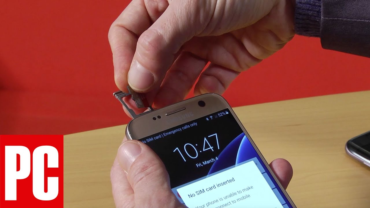 How To Use A Microsd Card On The Samsung Galaxy S7 Youtube