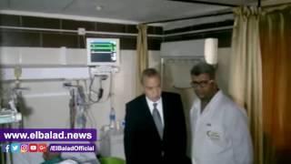 محافظ قنا يتفقد وحدتى العناية المركزة بالمستشفى العام.. فيديو و صور