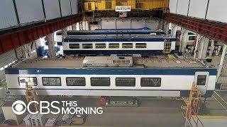 First look inside Amtrak's next-generation Acela train