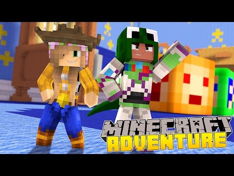 Minecraft - Little Kelly Adventures : LITTLE LIZARD & I BECOME TOYS!