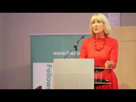 Professor Diane Reay speaking at an IETT event