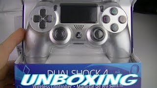 PS4 SILVER DUALSHOCK 4 UNBOXING