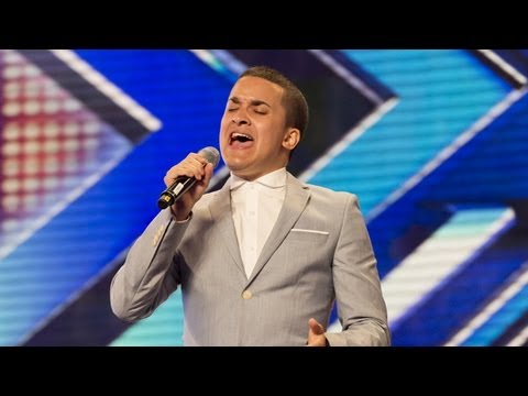 Jahmene Douglas audition  Etta James At Last The X Factor UK 2012