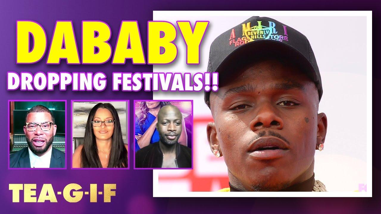 DaBaby Getting Shut Down by Festivals!?   Tea-G-I-F