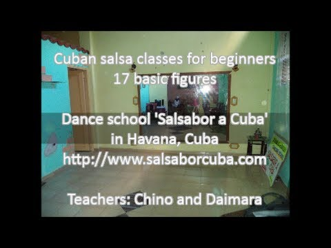 Cuban salsa classes - 17 turns for beginners from 'Salsabor