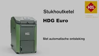 HDG Euro stukhoutketel van Bio Energie op Maat