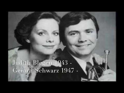 """Judith Blegen - Gerard Schwarz """"Airs and Arias"""" Händel"""