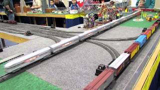 S Gauge Model Trains by the Washington and Old Dominion ACSG Group
