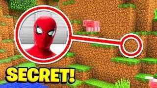 Minecraft : We Found SPIDERMANS SECRET BASE! (Ps3/Xbox360/PS4/XboxOne/PE/MCPE)