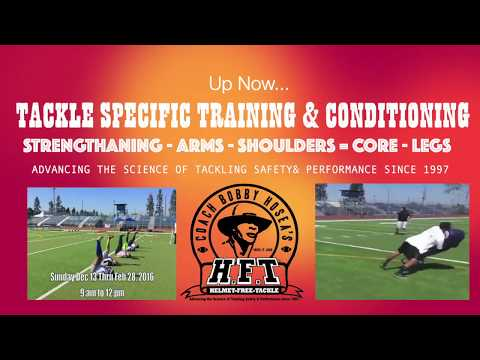 Helmet-Free-Tackle Specific Education, Training & Conditioning 2020