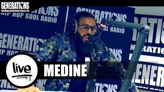 Medine - Grand Medine (Live des studios de Generations)