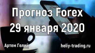 Прогноз форекс на 29 января 2020