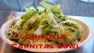 chipotle Carnitas recipes   keto bowl