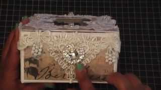 Elegant Jewelry Box / Tutorial - One Little Dreamer