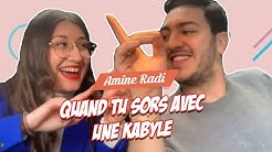 Amine Radi - Quand tu Sors avec une Kabyle
