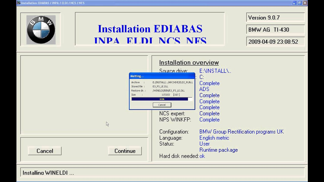 ediabas/inpa software paket