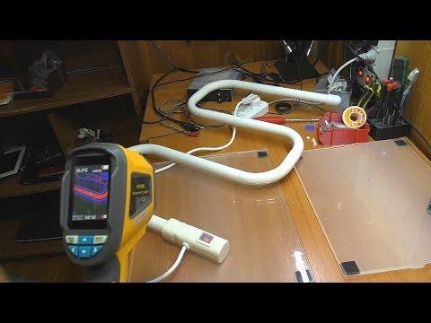 ДОРАБОТКА: Электрический полотенцесушитель REXANT 702 / Терморегулирование