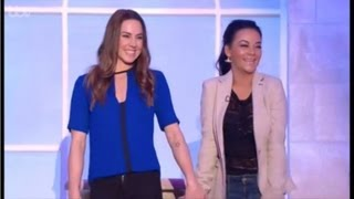 Melanie C & Chelsee Healey on the Alan Titchmarsh Show