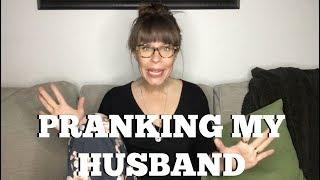 Mission Dino: Pranking my husband