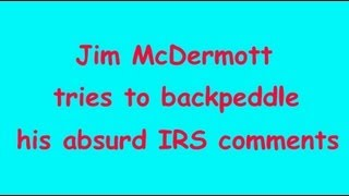 Megyn Kelly questions Jim McDermott about IRS hearing