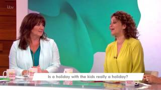 Loose Women Rant About Holidays With Young Children | Loose Women