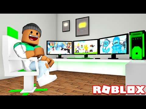 Becoming A Youtuber In Roblox