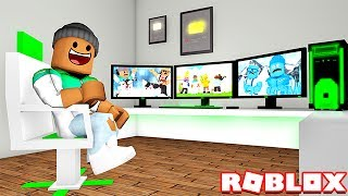 BECOMING A YOUTUBER EN ROBLOX