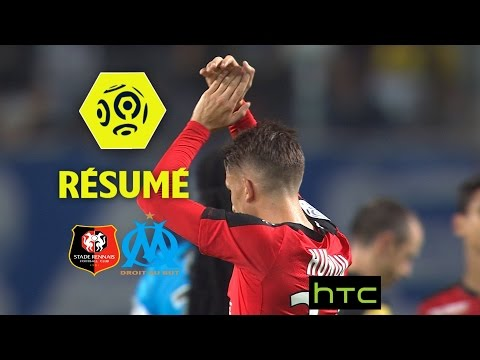 Stade Rennais FC - Olympique de Marseille (3-2)  - Résumé - (SRFC - OM) / 2016-17