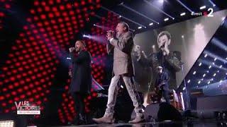 Hommage à Johnny Hallyday par Florent Pagny et Slimane - Victoires de la Musique 2018