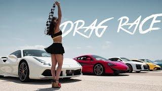 SuperCar Drag Race [Rent Car Deluxe]