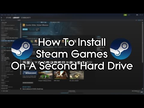 How to run your Steam library from an external drive ...