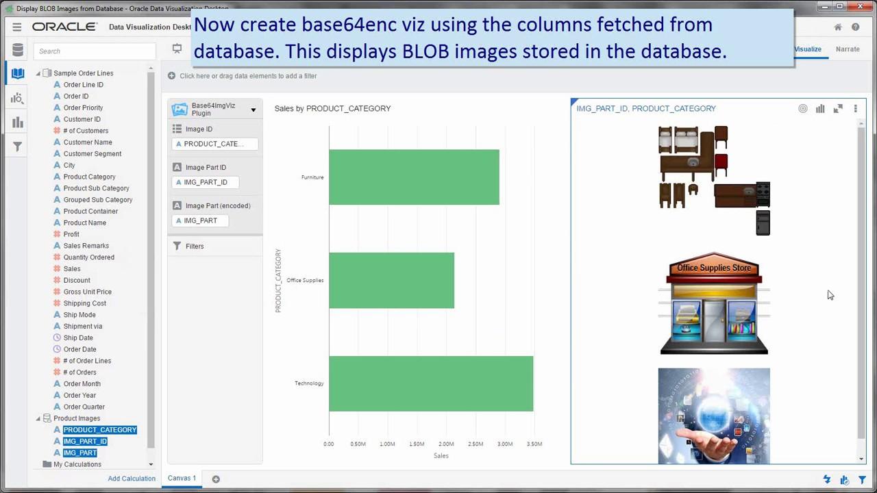 Oracle Underground BI & Dataviz: Displaying images (from R / ORE