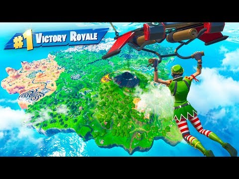Can You WIN WITHOUT LANDING In Fortnite?!