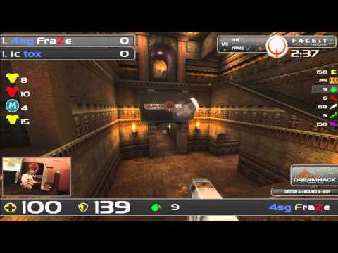 DHW2013 - Quake Live (GROUP A - R3) - tox vs FraZe