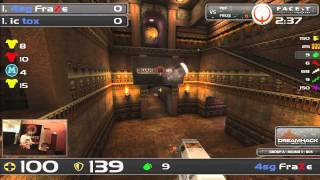 DHW2013 - Quake Live (GROUP A - R3) - tox vs FraZe