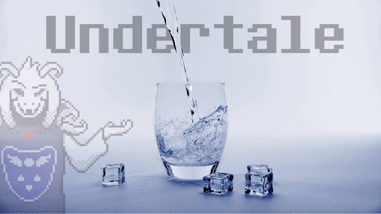 Recreating an Undertale song with the most SATISFYING water sounds.