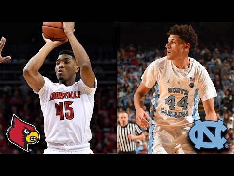 Louisville vs. UNC: Donovan Mitchell And Justin Jackson Showdown