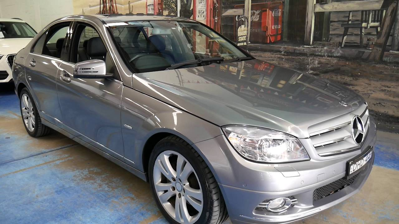 2009 Mercedes Benz C200 Kompressor 48 000 Klms Youtube
