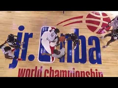 Team Africa & Middle East Battle Team Central In Inaugural Jr. NBA World Championship